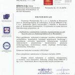 projekt przebudowy referencje